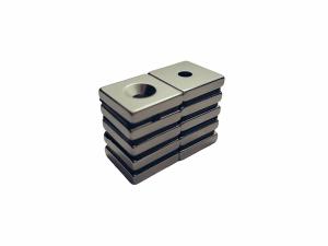 MAGNES NEODYMOWY MPŁ 18 x 18 x 3 N45 1D(7x3,5) N45